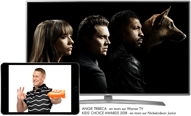 Angie Tribeca en mars sur Warner TV / Kids' Choice Awards 2018 en mars sur Nickelodeon Junior