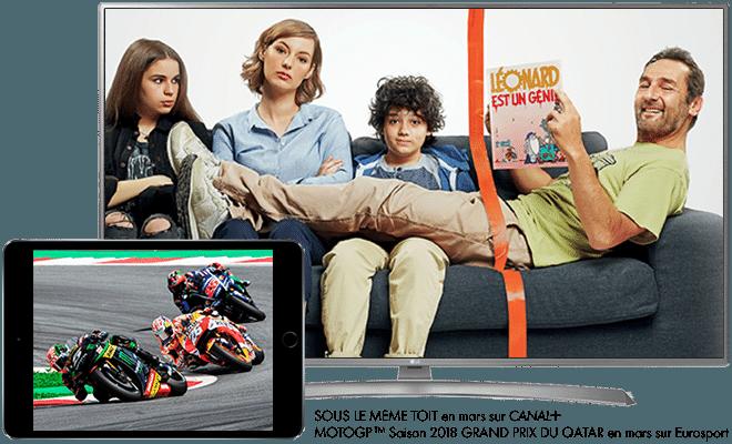 Sous le meme toit en mars sur CANAL+ / Moto GP saison 2018 Grand Prix du Qatar en mars sur Eurosport