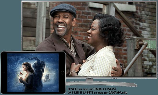 La Belle et la Bête en mars sur CANAL+ Family / Fences en mars sur CANAL+ Cinema