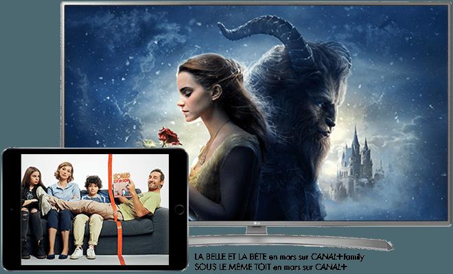 La Belle et la Bête en mars sur CANAL+ Family / Sous le meme toit en mars sur CANAL+