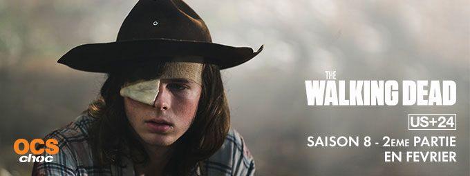 The Walking Dead - saison 8 - 2ème partie en février sur OCS Choc