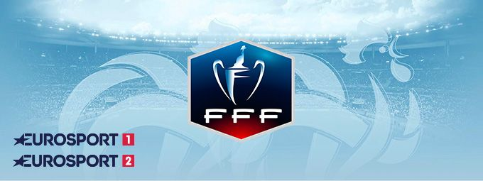 Coupe de France de Football en février sur Eurosport 1 et Eurosport 2