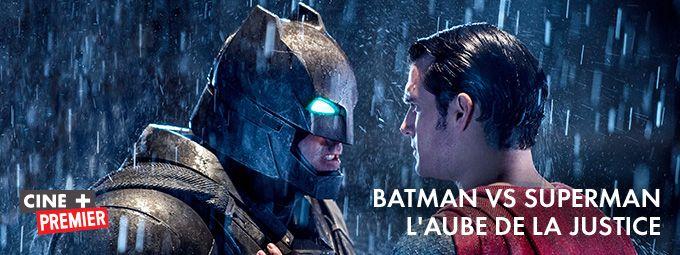 Batman vs Superman : L'aube de la Justice en février sur CINE+ Premier