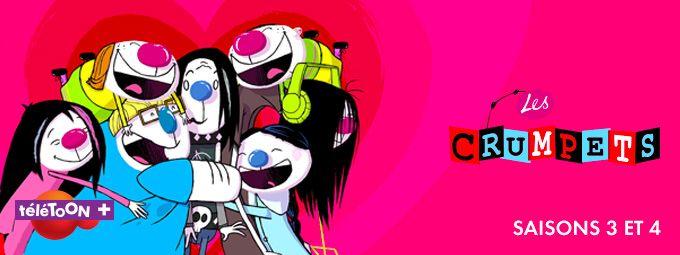 Les Crumpets - saisons 3 & 4 en février sur Teletoon+