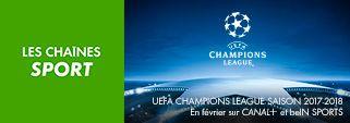 1/8ème de finale de l'UEFA Champions League en février sur CANAL+