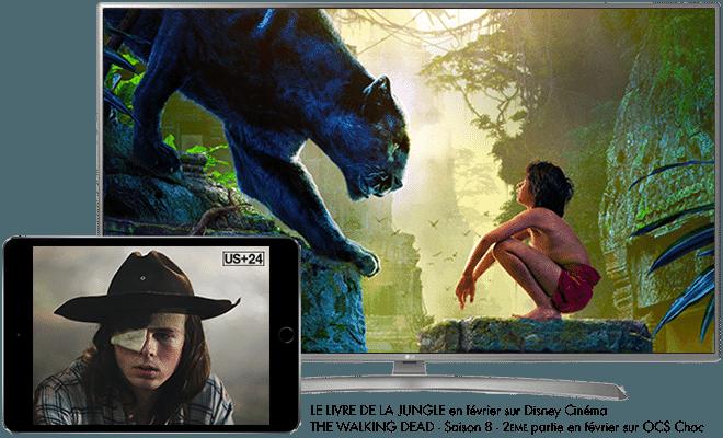 Le Livre de la Jungle en février sur Disney Cinéma / The Walking Dead - saison 8 - 2ème partie en février sur OCS Choc
