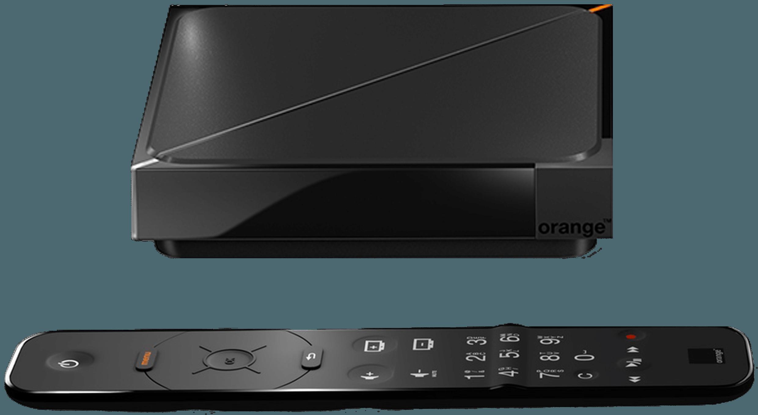 DÉCODEUR TV UHD 4K ORANGE