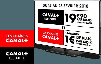 CANAL+ ESSENTIEL et Les chaînes CANAL+