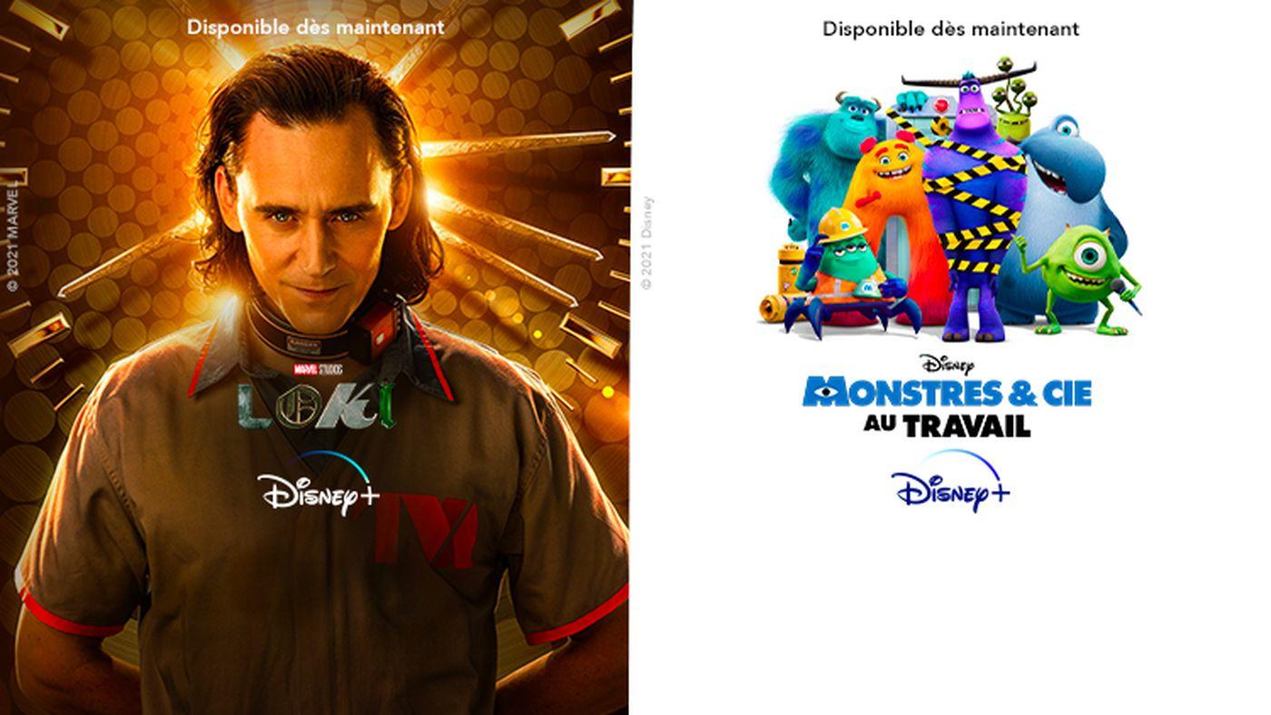 Loki / monstre & cie sur Disney+