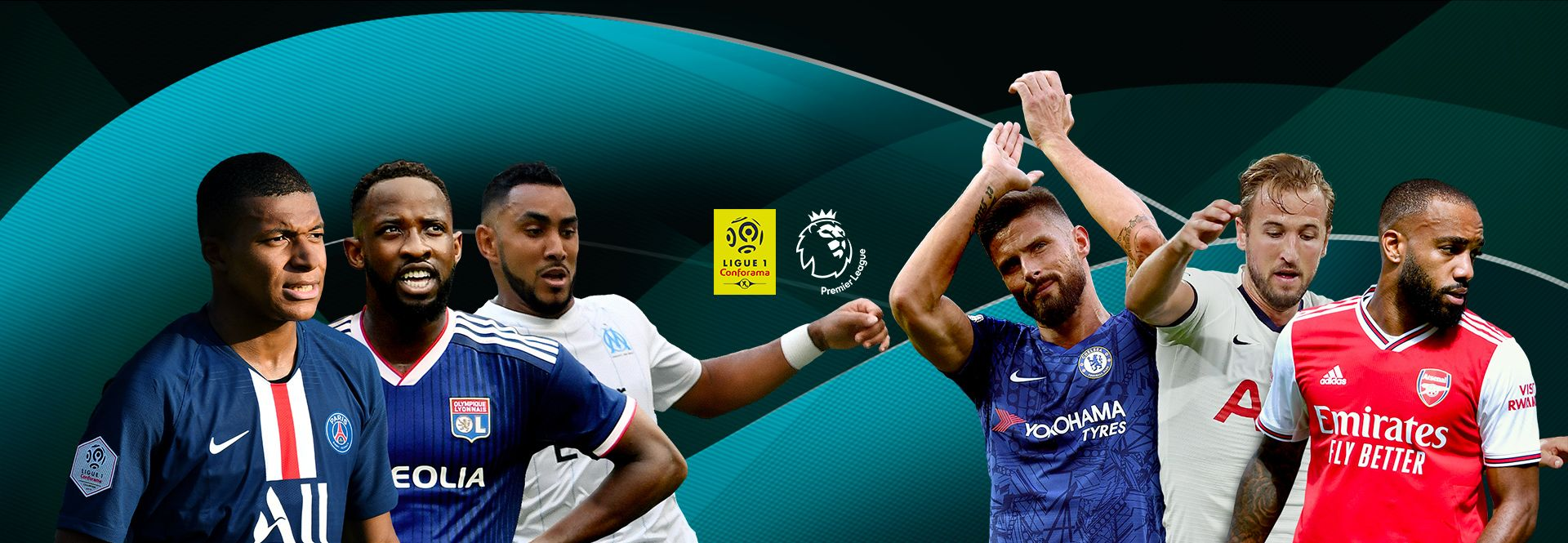 Sport en direct live ou replay : foot, rugby, golf, etc