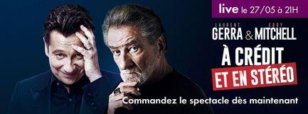Eddy Mitchell et Laurent Gerra - A Crédit et en Stéréo
