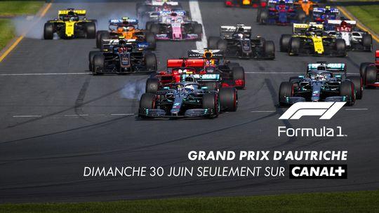 F1 TM Grand Prix d'Autriche Dimanche 30 Juin sur CANAL+