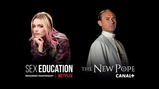 Sex education - Regardez maintenant sur NETFLIX / The new Pope - Sur CANAL+