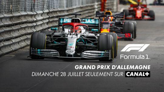Grand Prix d'Allemagne Dimanche 28 Juillet sur CANAL+