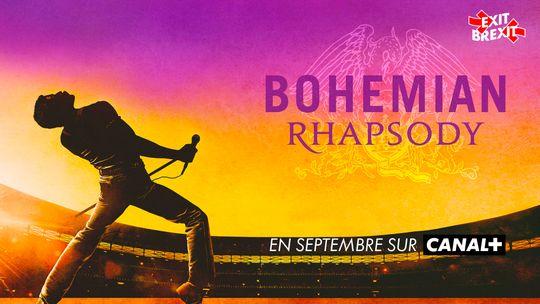 Bohemian Rhapsody en Septembre sur CANAL+