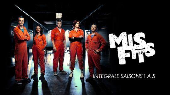 Misfits - Intégrale Saison 1 à 5