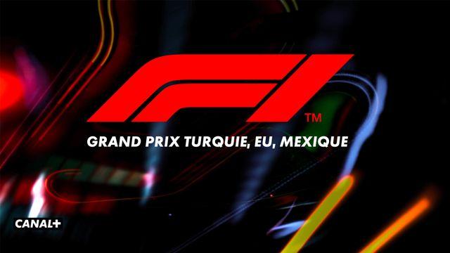 F1 Grand Prix Turquie EU Mexique CANAL+