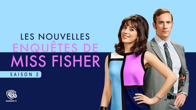 Les nouvelles enquétes de Miss Fisher Saison 2 WARNER TV