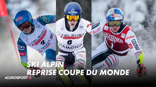 Ski Alpin - Reprise Coupe du Monde EUROSPORT 1
