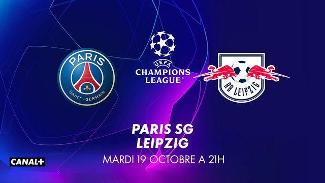 UEFA Champions League PSG - LEIPZIG CANAL+