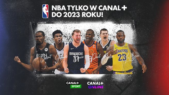 NBA do 2023 roku w CANAL+