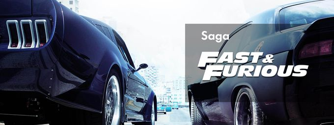 Saga Fast and Furious sur Ciné+ Frisson