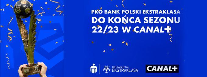 CANAL+ przedłuża prawa do Ekstraklasy