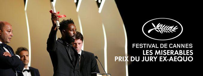 Prix du Jury pour Les Misérables