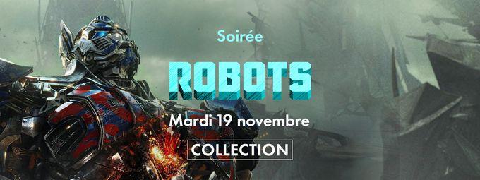 Soirée 100% robots  sur Frisson
