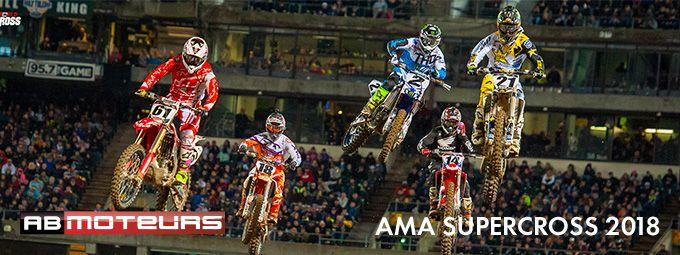 AMA Supercross 2018 en janvier sur AB Moteurs
