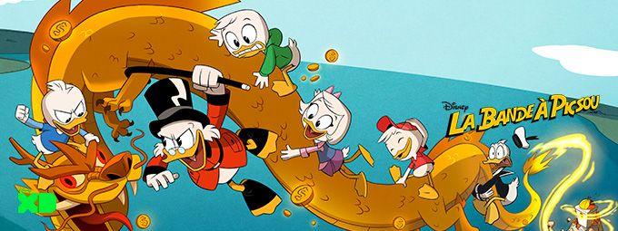 La bande à Picsou et l'Atlantide en janvier sur Disney XD