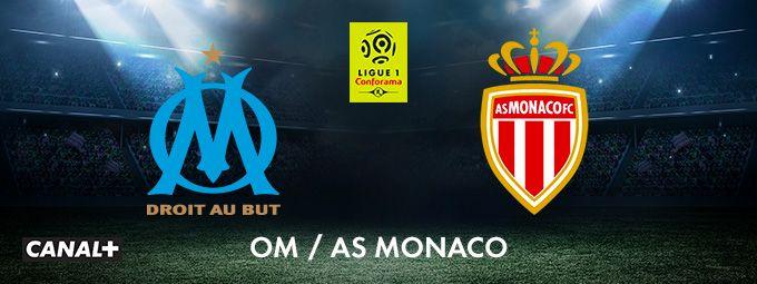 OM / AS Monaco en janvier sur CANAL+
