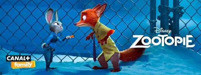 Zootopie en janvier sur CANAL+ family