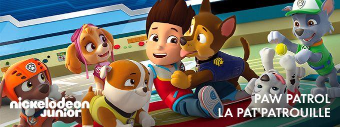 Paw Patrol - La Pat'Patrouille en janvier sur Nickelodeon Junior
