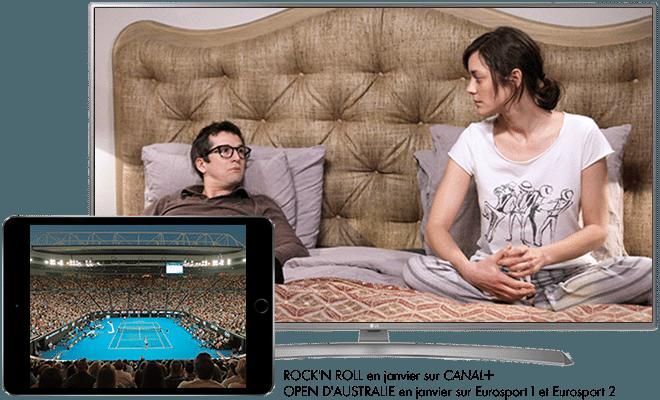 CANAL+ ESSENTIEL et Les chaînes Sport et Les chaînes Ciné Séries
