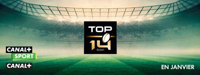 Top 14 en janvier sur CANAL+ et CANAL+ Sport
