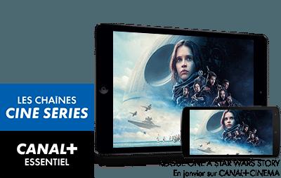 CANAL+ ESSENTIEL et Les chaînes Ciné Séries