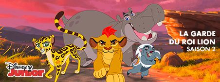 La garde du roi lion saison 2 sur Disney Junior