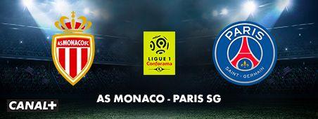 AS Monaco - PSG en novembre sur CANAL+
