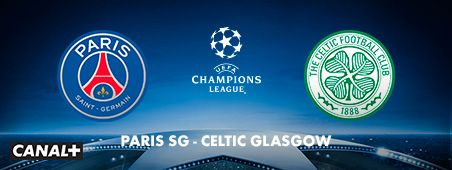 PSG - Celtic Glasgow en novembre sur CANAL+