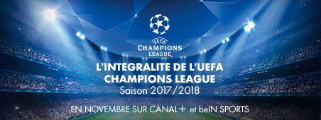 L'Intégralité de l'UEFA Champions League 2017/2018