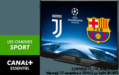 CANAL+ ESSENTIEL et Les chaînes Sport