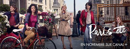 Paris etc en novembre sur CANAL+