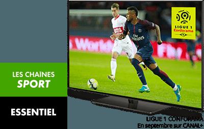 ESSENTIEL et Les chaînes Sport