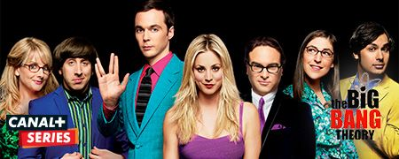 The Big Bang Theory en octobre sur CANAL+ Series