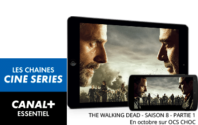 The Walking Dead - saison 8 - partie 1 en octobre sur OCS Choc