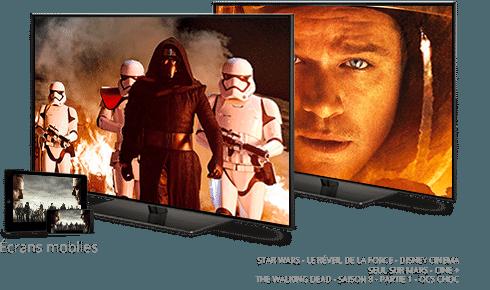 Star Wars : Le Reveil de la Force en octobre sur Disney Cinema / Seul sur Mars sur Ciné+ / The Walking Dead en octobre sur OCS Choc