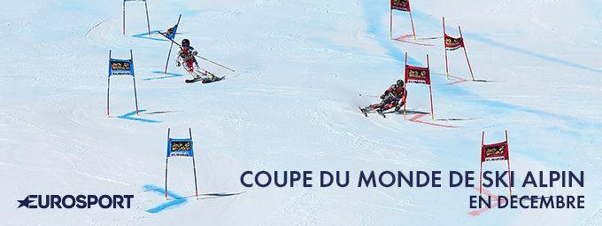 Coupe du monde de ski en décembre sur Eurosport