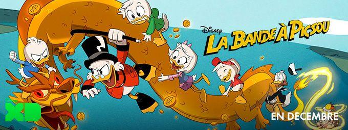 La bande à Picsou et l'Atlantide en décembre sur Disney XD