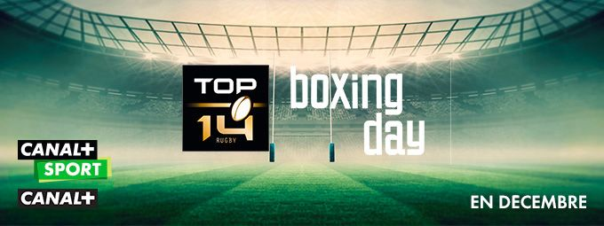 Top 14 en décembre sur CANAL+ et CANAL+ Sport